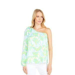 Lilly Pulitzer Avena One Shoulder Top